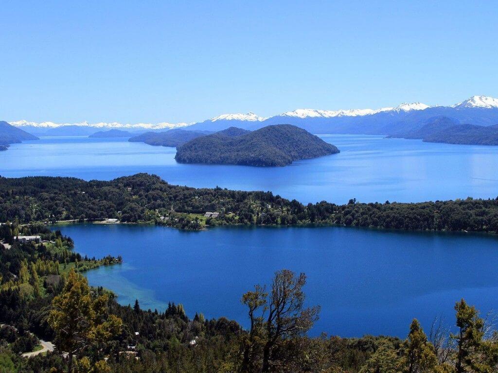 Lac Nahuel Huapi, au nord de la Patagonie en Argentine